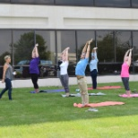 Yoga at ADP