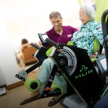 Exercise for the elderly at the nursing home
