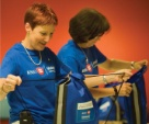 Participants in BMO Volunteer Day package up