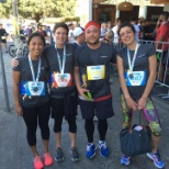 Employsure team at City2Surf in Sydney