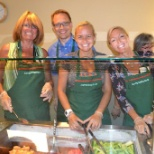 HAL Employees Volunteer at Seattle's Ronald McDonald House near Seattle Children's Hospital