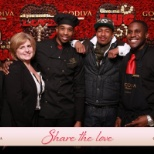 Godiva Chocolatier, Inc photo: Rockefeller center event for valentines day with nick cannon