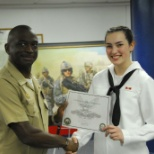 U.S. Navy photo: The day I graduated from QM A school, number 10 in my class of 22