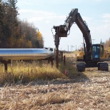 Roterra Screw Piling Ltd. photo: Field Installation