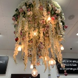 Our Perfume chandelier - at our Sheffield Concept store
