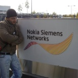 Nokia Networks photo: with companies logo