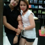 The Body Shop girls