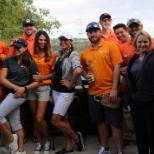 Managed Solution photo: Our team raised money for charity at our annual golf tournament.