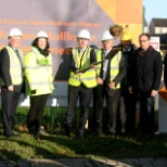 Sod Turning with Minister English in Mullingar with 58 homes due for delivery 2020