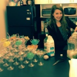 sweetiQ photo: Making Swiqtinis for Startup Open House