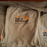 "THE HOME DEPOT ""GET IT INSTALLED"" Authorized Service Provider."