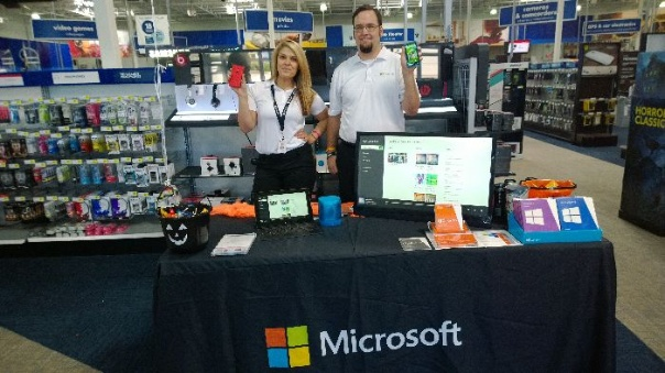 Doing one of our One to Many promotional events for Microsoft in Dallas, Texas.
