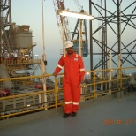 Maersk Oil photo: Store's set-up at Offshore