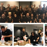 Verizon Talent Acquisition Gives Back: Our V Teamers participated in supporting the Red Cross.