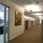 Engineering lab and work spaces @ DataSoft in Tempe.