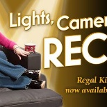 Regal recliner campaign ad