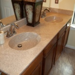 KDSwinson Multicolored Countertop