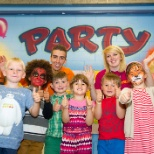 YMCA photo: Party playworkers
