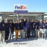FedEx Kandahar Airbase Office