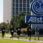 Allstate Insurance photo: Sprint & Stride for Breast Cancer Annual 5K Run/Walk at Allstate
