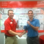Chris G recently completed his courses and graduated from the Store Management Training Program