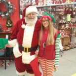 First time Santa and his elf came to do a meet and greet with the children at Belle Vernon Lowe's.