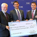 Logistics Management Institute photo: Thank you, LMI, for raising $27,025 for USO's Operation Enduring Care & Holding Down the Homefront!