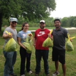 Voluteering at Urban Roots. FreightPros offers Paid Time Off to Volunteer in the community!