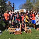 Running the Rutgers marathon as a team