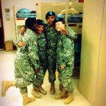 Myself and three Battles, Basic Training Completion