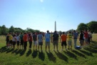 Bonding on the National Mall!