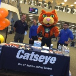 Catseye team on-site for a marketing event
