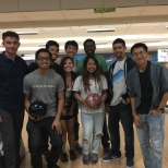 QualiTest Group photo: San Diego office goes bowling!