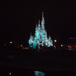 Cinderella's Castle during the Holiday's