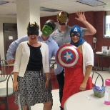Trisept Solutions photo: The Trisept Training team dressed up for Comic Book Day