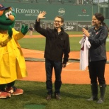 Beth Israel Deaconess Medical Center photo: Lifelong Red Sox fan and Director of BIDMC's Inflammatory Bowel Disease Program Dr. Adam Cheifetz is