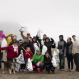 A group of LP volunteers clean up our beaches on the Oregon coast!