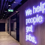 "Our mission, ""We Help People Get Jobs!"""