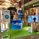 Culligan Water photo: Stand galerie marchande