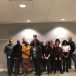 Our awesome new facility opened in Charlotte NC.  This is our new class of talented associates!!