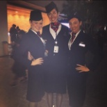 British Airways photo: Me and BA Colleagues