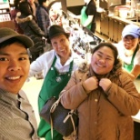 Having good time with customers