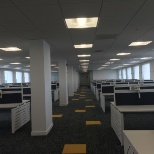 Project completed by me at Victoria House relocating 500 employee