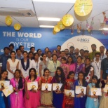Graduates of AGRIMA, a program designed to empower women employees at HGS