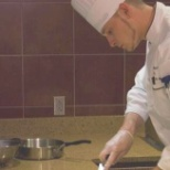 This picture was taken while i was competing at Aramark ACE competition