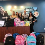 Back to School Backpacks for families in need in the area