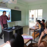 Was taking classroom training in Mathura while working with Educomp Solutions LTD