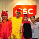 DXC Technology photo: Children's day at CSC office