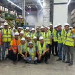 co-workers who attended and contributed to the construction of a branch IKEA Cairo. (Build Up)