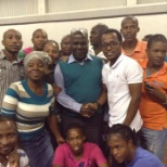 Anglo American photo: Farewell party of our supervisor